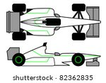 powerful vehicle to compete in... | Shutterstock .eps vector #82362835