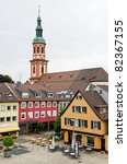 old town of offenburg  baden... | Shutterstock . vector #82367155