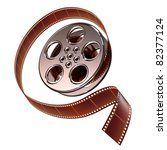 reel of film | Shutterstock . vector #82377124