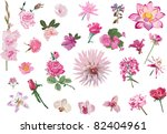 illustration with collection of ... | Shutterstock .eps vector #82404961