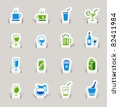 Paper Cut   Drink Icons