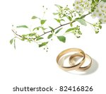 wedding background with the... | Shutterstock . vector #82416826
