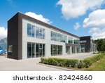 small modern office building... | Shutterstock . vector #82424860