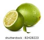 vector fresh lime | Shutterstock .eps vector #82428223