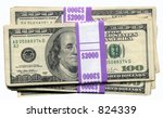 Small photo of A tidy sum of money
