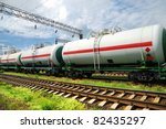 transportation tank cars with