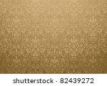 Golden Wallpaper Design