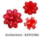 red bows in decorating | Shutterstock . vector #82441486