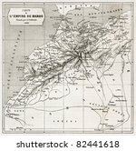 morocco old map.  created by... | Shutterstock . vector #82441618