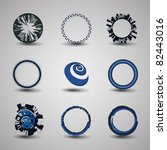 collection of circle design | Shutterstock .eps vector #82443016