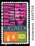 Usa   Circa 1970   A Stamp...
