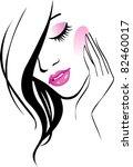 female icon jpg | Shutterstock . vector #82460017