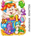 funny cartoons | Shutterstock . vector #82467526