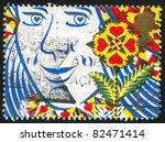 great britain   circa 1991 ... | Shutterstock . vector #82471414