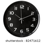 Close Up Of An Office Clock On...