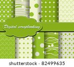 set of vector paper for... | Shutterstock .eps vector #82499635