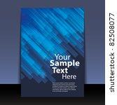 flyer or cover design | Shutterstock .eps vector #82508077