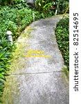 walk way in the garden | Shutterstock . vector #82514695