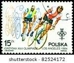 poland   circa 1944  a stamp... | Shutterstock . vector #82524172
