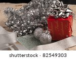 christmas decorations and gift... | Shutterstock . vector #82549303