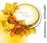 autumn background | Shutterstock .eps vector #82551682
