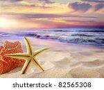 tropical beach | Shutterstock . vector #82565308