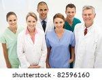 mixed group of medical