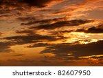 sunset light | Shutterstock . vector #82607950