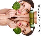organic cosmetic | Shutterstock . vector #82630318