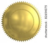 gold sea. | Shutterstock . vector #82654075