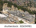Temple Of Apollo At Delphi...