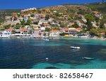 traditional fishing village of... | Shutterstock . vector #82658467