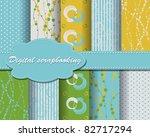 set of vector paper for... | Shutterstock .eps vector #82717294