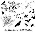 birds | Shutterstock .eps vector #82721476