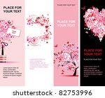 summer floral pink banners...