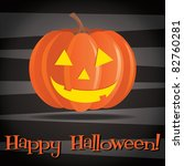 jack o lantern happy halloween...   Shutterstock .eps vector #82760281