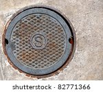 Round Iron Sewer Manhole Cover