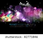 eps10 vector night lights... | Shutterstock .eps vector #82771846