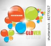 esp10 vector multicolor clover... | Shutterstock .eps vector #82773217
