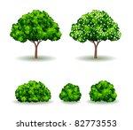vector tree | Shutterstock .eps vector #82773553