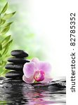 spa concept with zen stones and ... | Shutterstock . vector #82785352