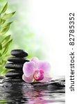 spa concept with zen stones and ...   Shutterstock . vector #82785352