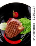 Meat Savory   Beef Grilled And...