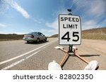 A 45 Mile Per Hour Speed Limit...