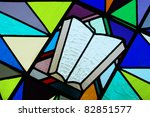 Stained Glass   Bible