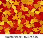 autumn seamless pattern. side...