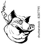 money pig vector | Shutterstock .eps vector #8287795
