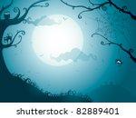 halloween night | Shutterstock .eps vector #82889401