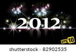 2012 new year | Shutterstock .eps vector #82902535