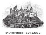 Hohenzollern Castle Or Burg...